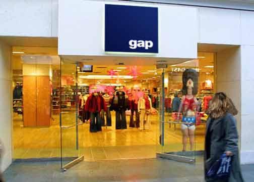 Gap-storefront